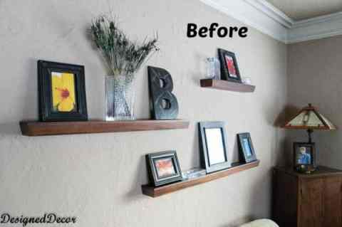 Spring Decorating Accessories-before