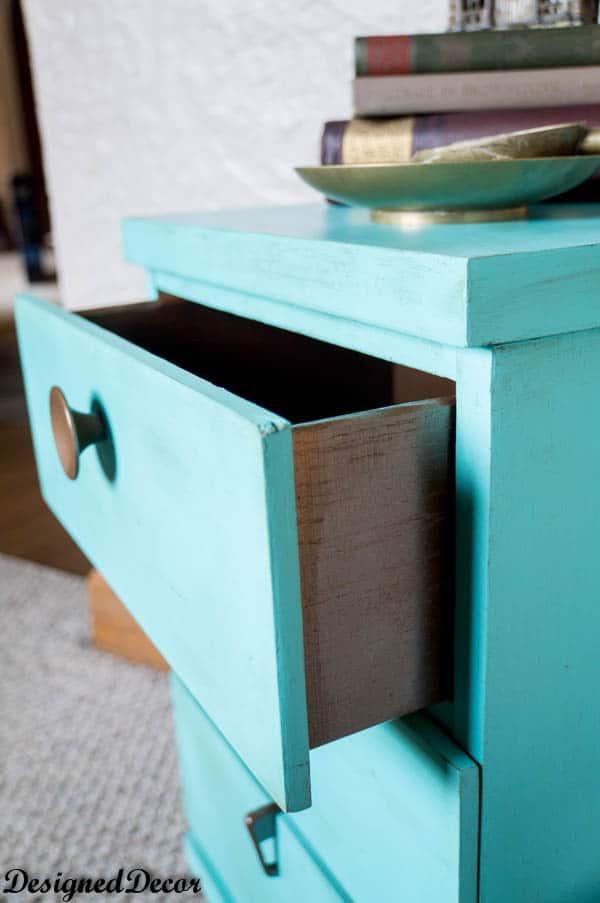Tropical Cocktail End Table