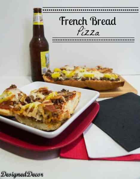 french bread pizza-