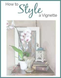 how to style a vignette