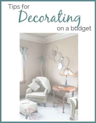 tips for decorating on a budget
