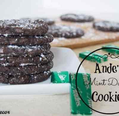 Andes Mint Doodle Cookies!