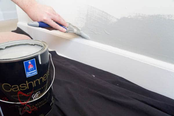 Painting the walls and trim-4-2