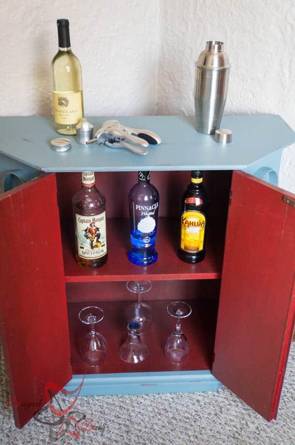 Accent Cabinet- wine cabinet
