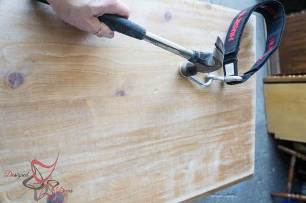aging wood before applying stain