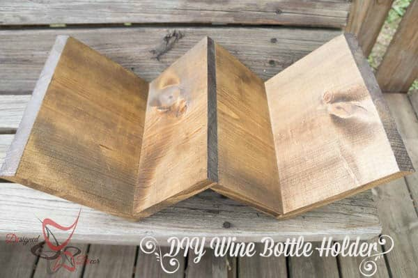 DIY Wine Bottle Holder