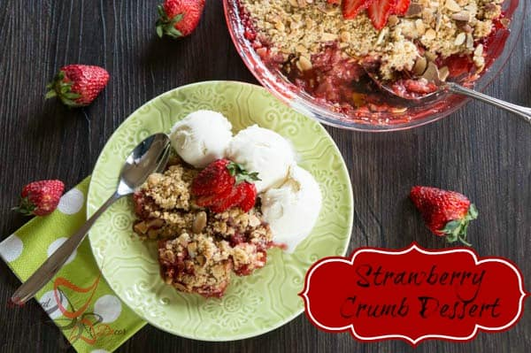 Strawberry Crumb Dessert-pinnable