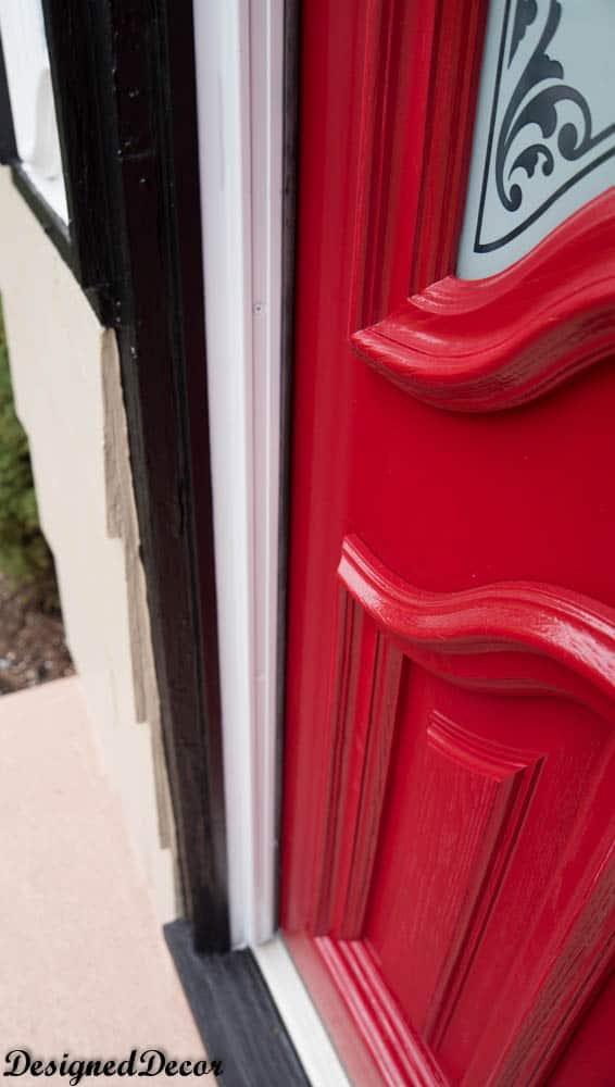 how to spray paint a front door-