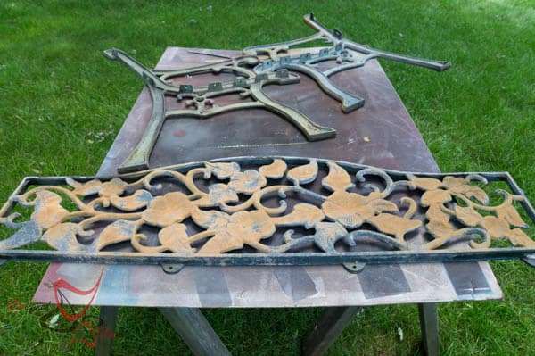 Bench Make over ~ Metal Effects by Modern Master's
