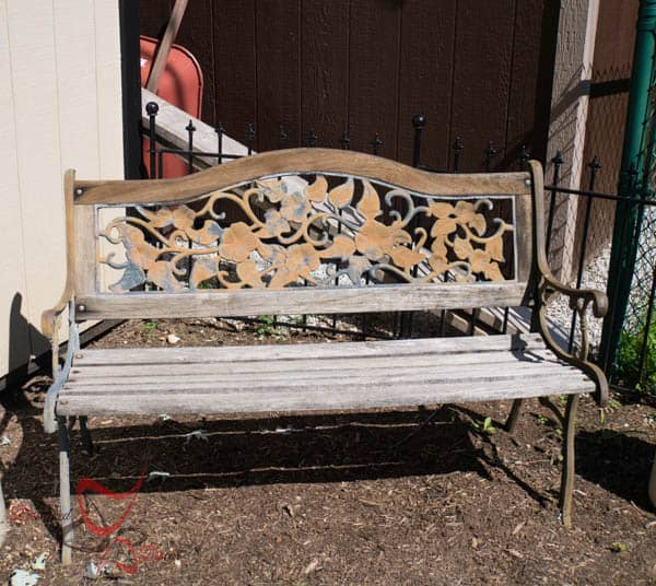 Bench Make over ~ before
