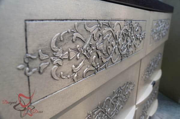Embossed Dressers~ Wood Icing ~ Modern Masters-