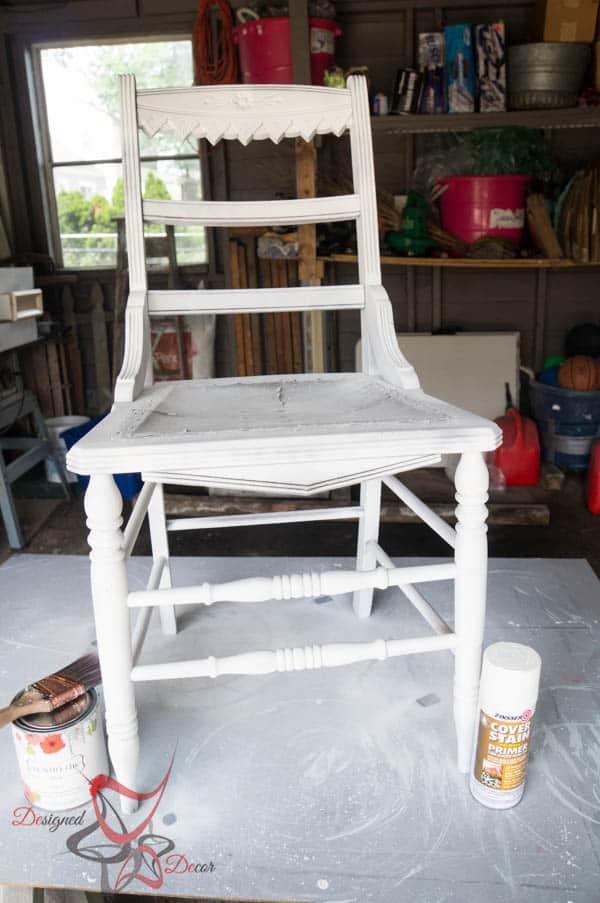 Antique Accent Chair-3