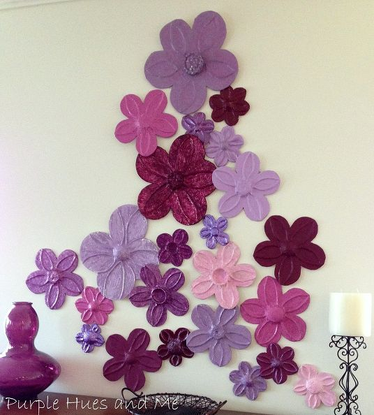 Foil Flowers by Purple Hues and Me