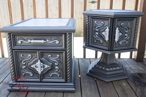 Chunky Ornate Tables