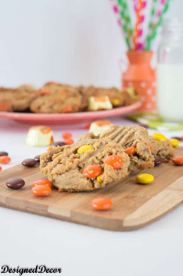 Reese's Loaded Peanut Butter Cookies-