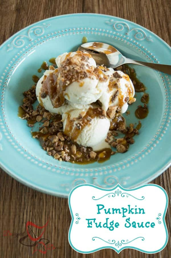 Pumpkin Fudge Sauce