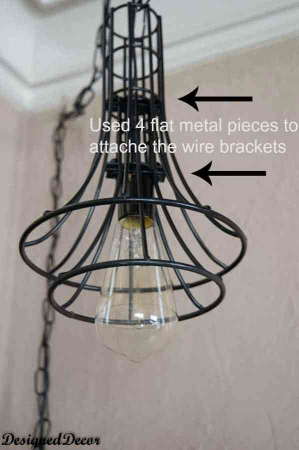 How to make a Wire Pendant Light