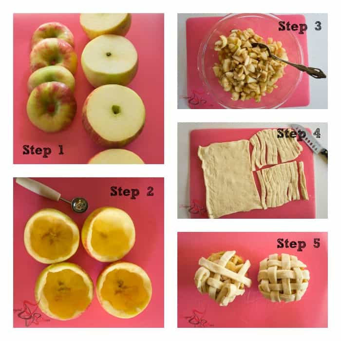 Apple Pie Apples ~5 steps