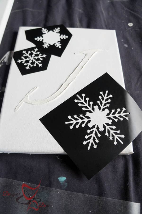 Snowflake stencils