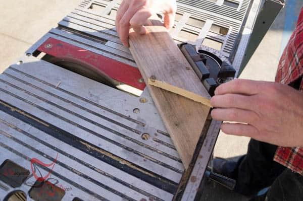 Pallet Snowflakes- using reclaimed wood