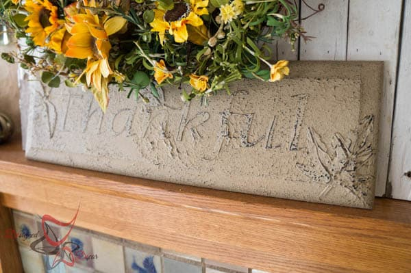 Repurposed Drawer Front to Wall Decor-14