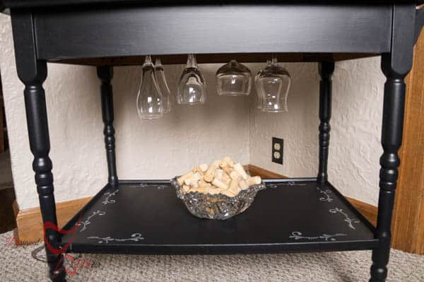 Old Tea Cart to a Stylish Wine Cart-
