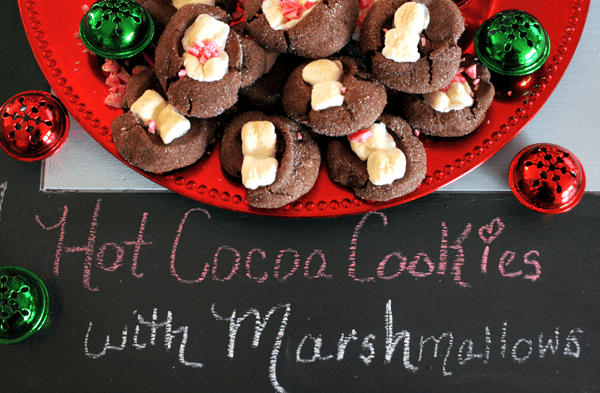 Hot Cocoa Cookies- Cookie Round-up