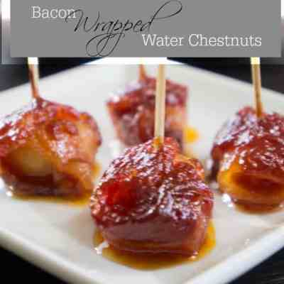Bacon Wrapped Water Chestnuts!