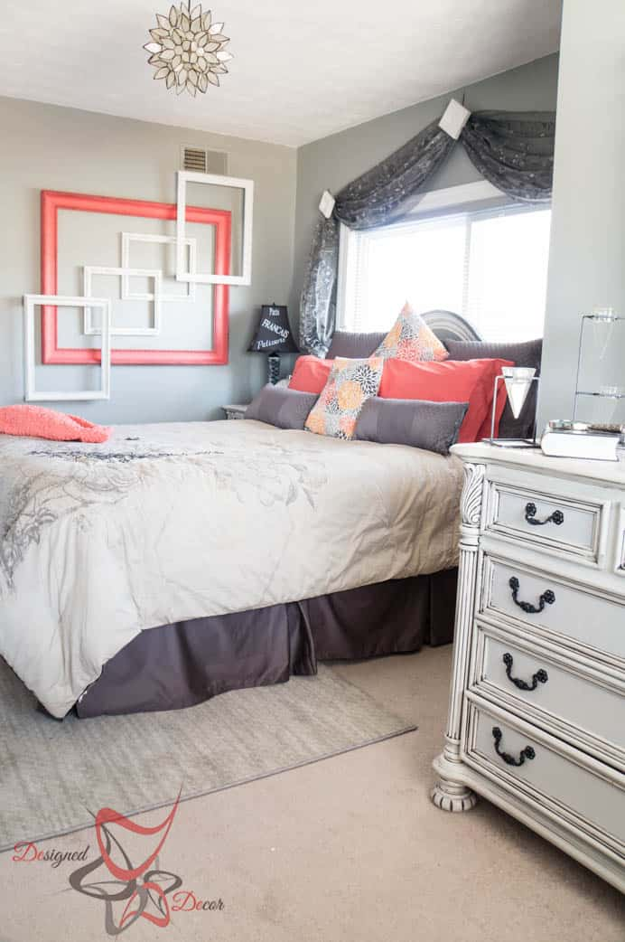 Guest Bedroom Makeover- On a Budget