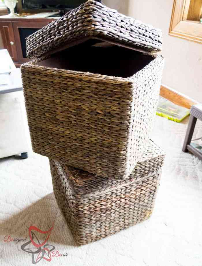 How to Stain a Basket