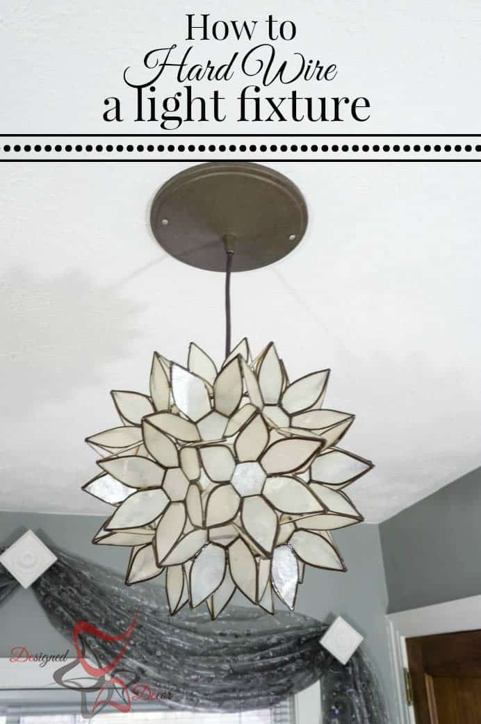 How to hard wire a light fixture designed decor how to hard wire a light fixture a simple diy tutorial aloadofball Gallery