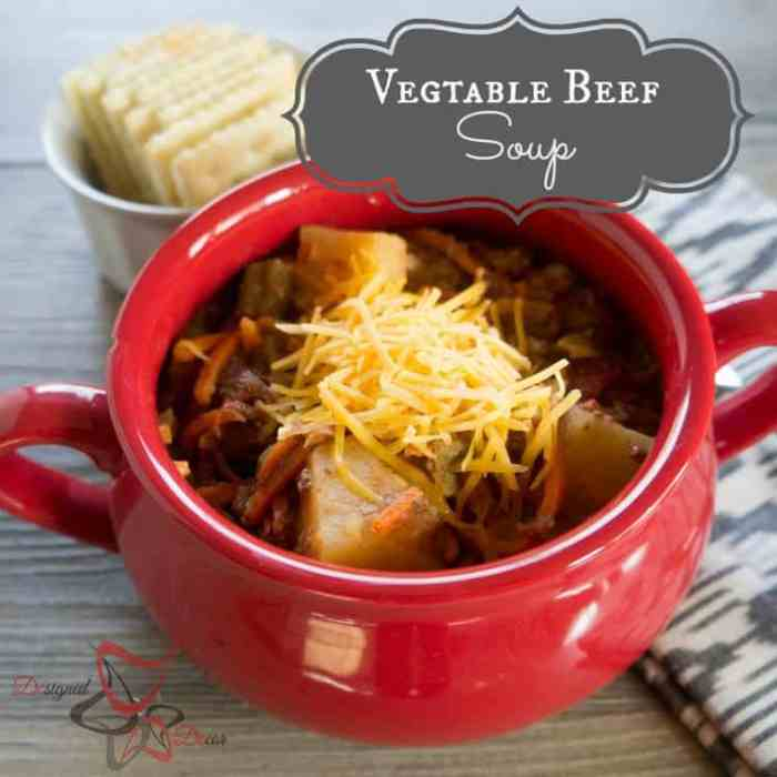 Vegetable Beef Soup-