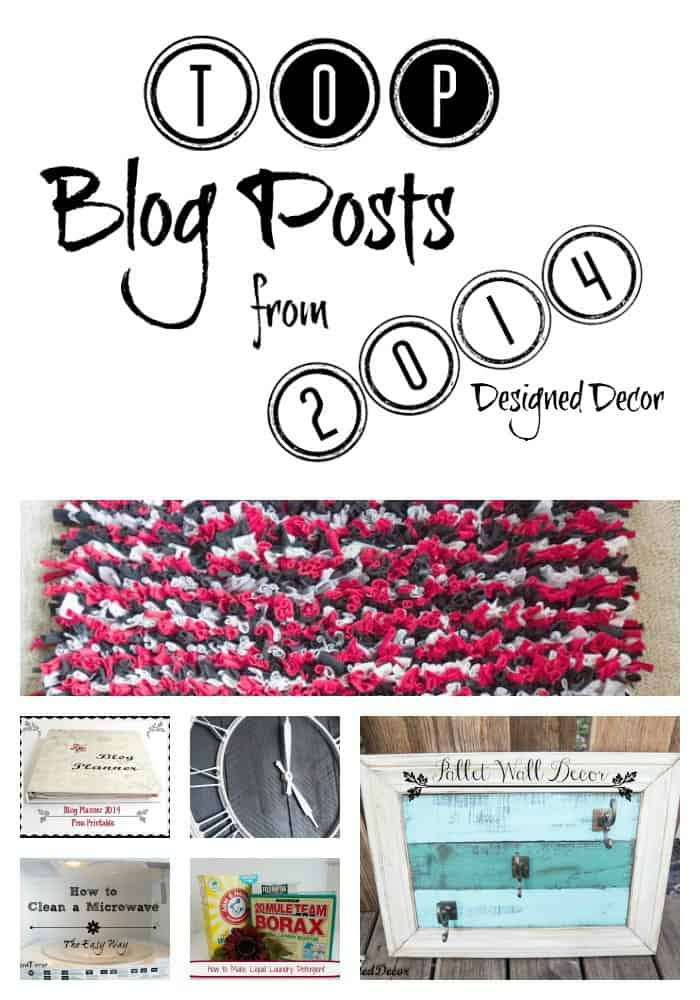 Designed Decor Top Blog posts from 2014