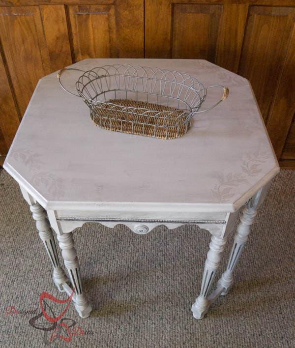 Antique Hexagon Table-