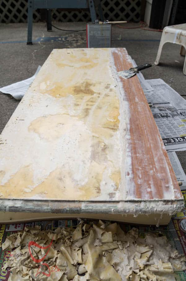 Refinishing a Factory Painted Table-