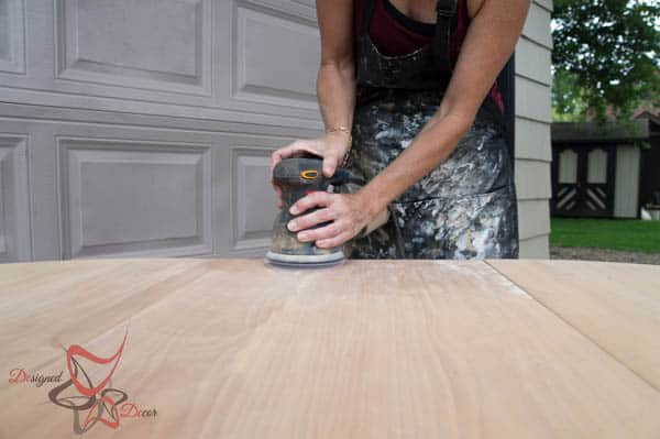 Stripping a Factory painted table