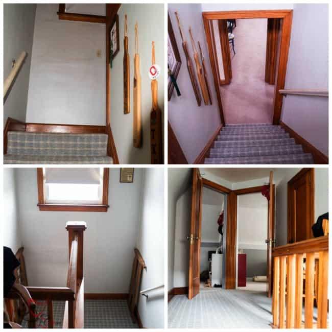 Attic Stairway-Before