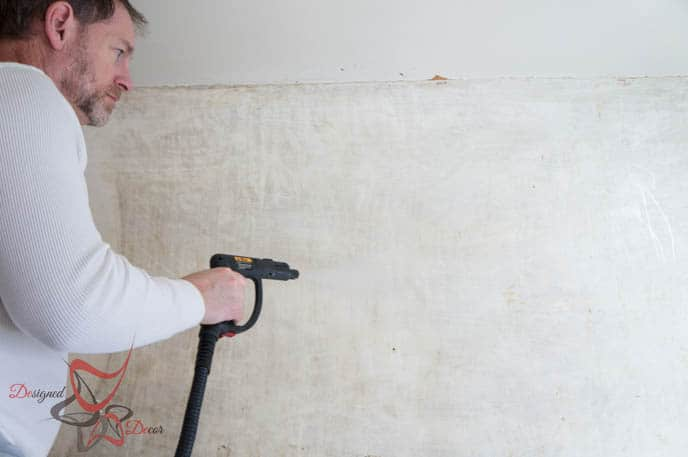 Easy Method Wall Paper Removal-HomeRight-Steam Machine Plus-Simple Steps_-15