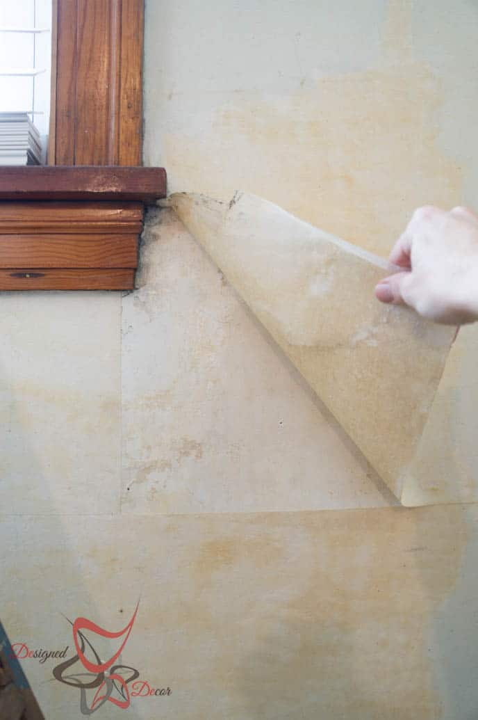 Easy Method Wall Paper Removal-HomeRight-Steam Machine Plus-Simple Steps_-6