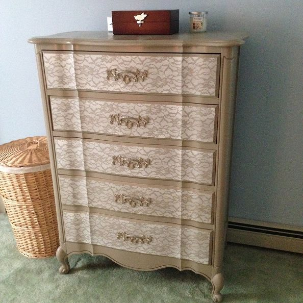 stenciling furniture ideas. This Great Lace Stencil Was Done By Weekend Craft Stenciling Furniture Ideas