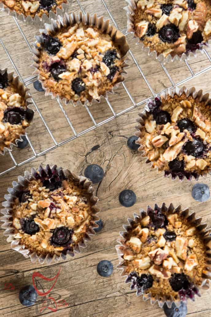 baked Oatmeal Muffins-