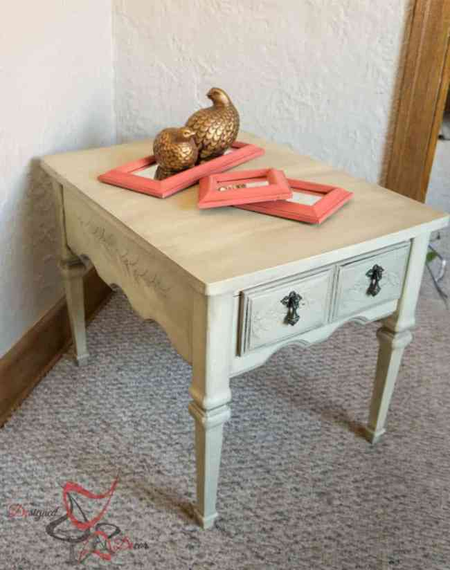 Embossed Side Table-11