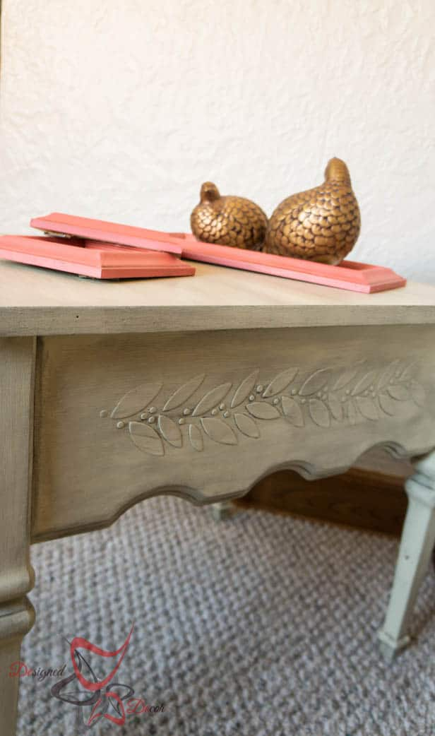 Embossed Side Table-5