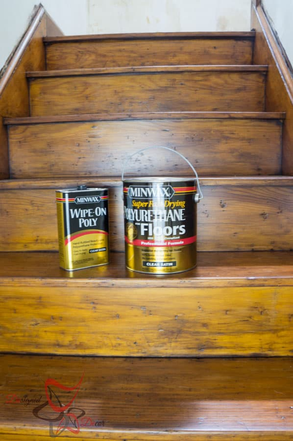 How to use Gel Stain over stained wood - Minwax Gel Stain-5