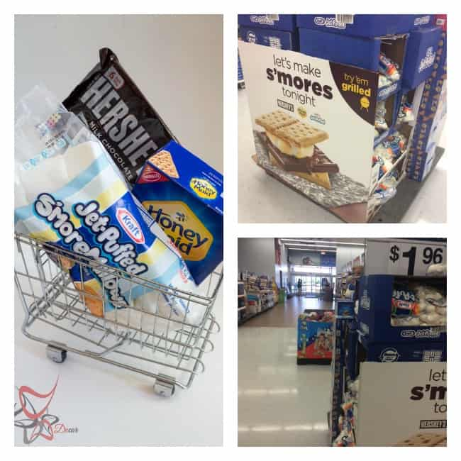 #LetsMakeSmores - Walmart shopping-