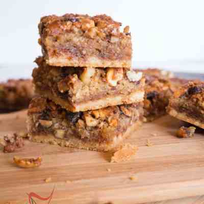 Gooey Mixed Nut Bars!