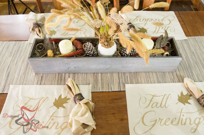 DIY Table Trough Centerpiece Tablescape (8 Of 27)