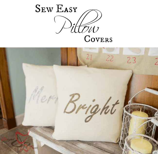 Sew Easy Pillow Covers