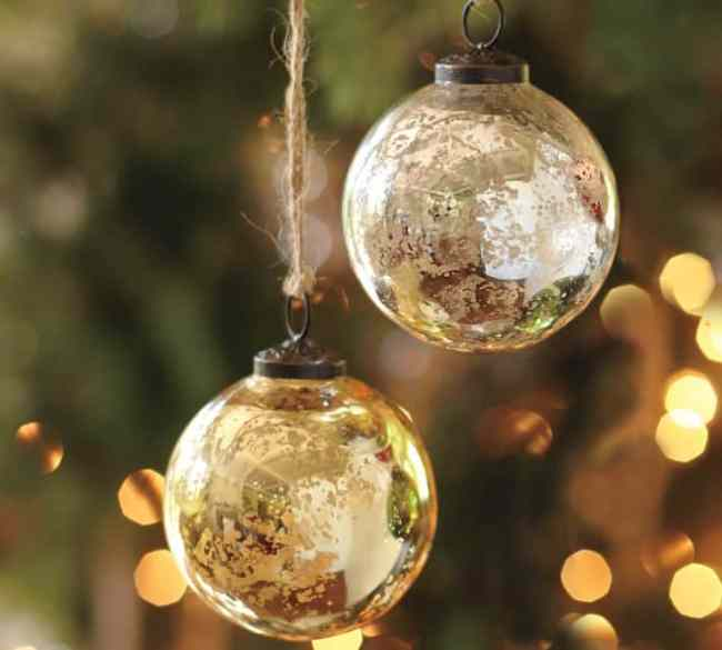Diy Glass Ornaments: DIY Mercury Glass Ornament-Christmas Decorating On A