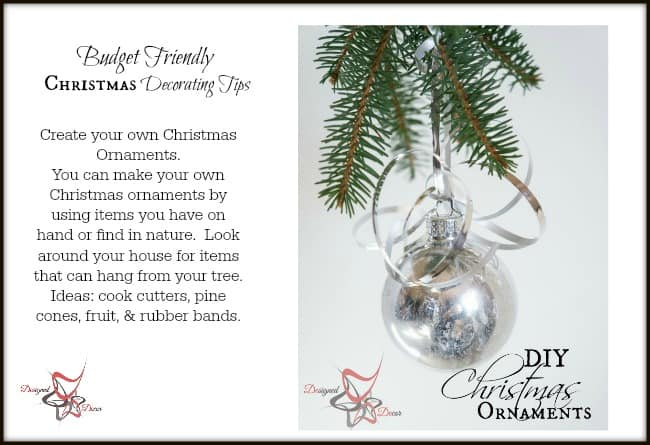 Christmas Decorating on a Budget tips